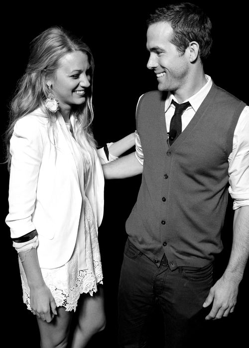 Blake Lively with Ryan Reynolds