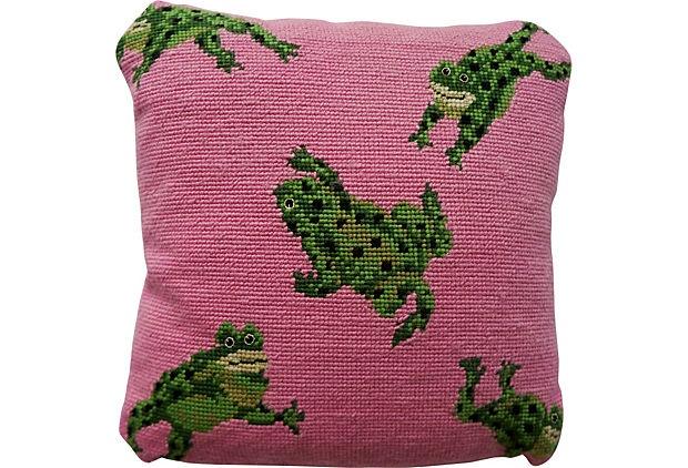 41 Best Ideas About Frog Needlepoint On Pinterest Wool