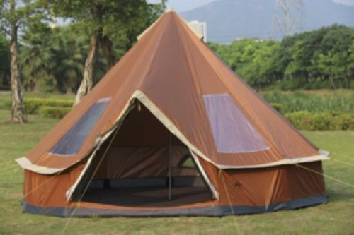 Outdoor Family Tent Mongolia Yurt 5-8 Person Tent- High Quality, BIG, 2 colours