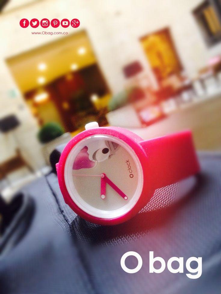 Un O clock para los buenos momentos...   www.Obag.com.co