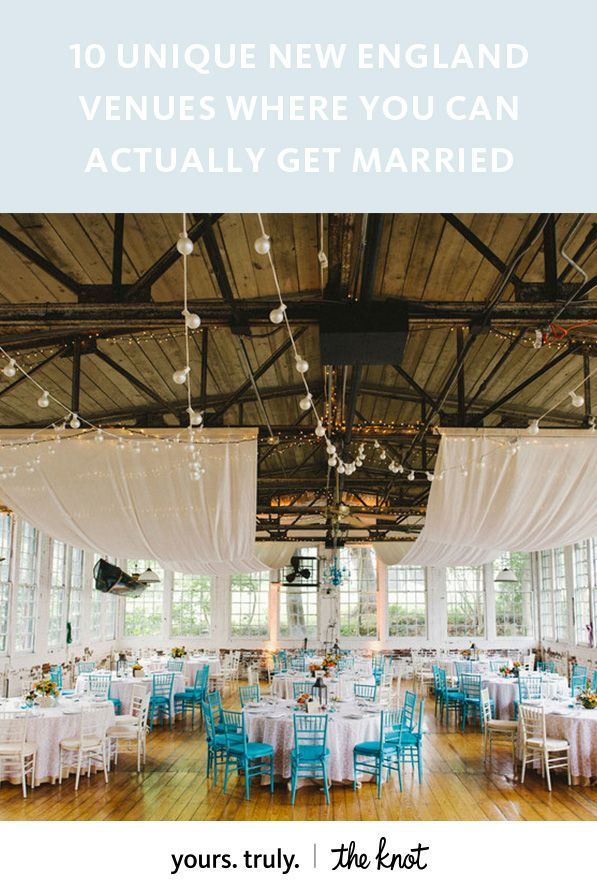 unique wedding venues northern new jersey%0A    Unique New England Venues Where You Can Actually Get Married