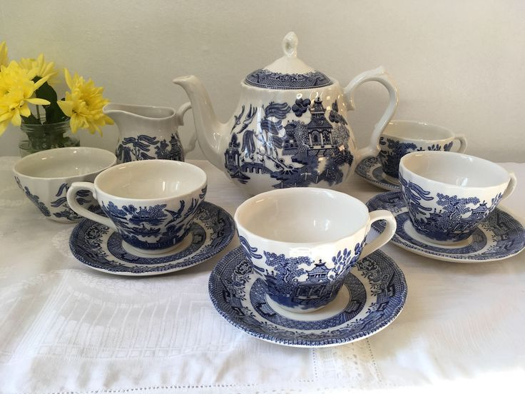 A personal favourite from my Etsy shop https://www.etsy.com/uk/listing/524850615/blue-willow-pattern-mismatch-churchill