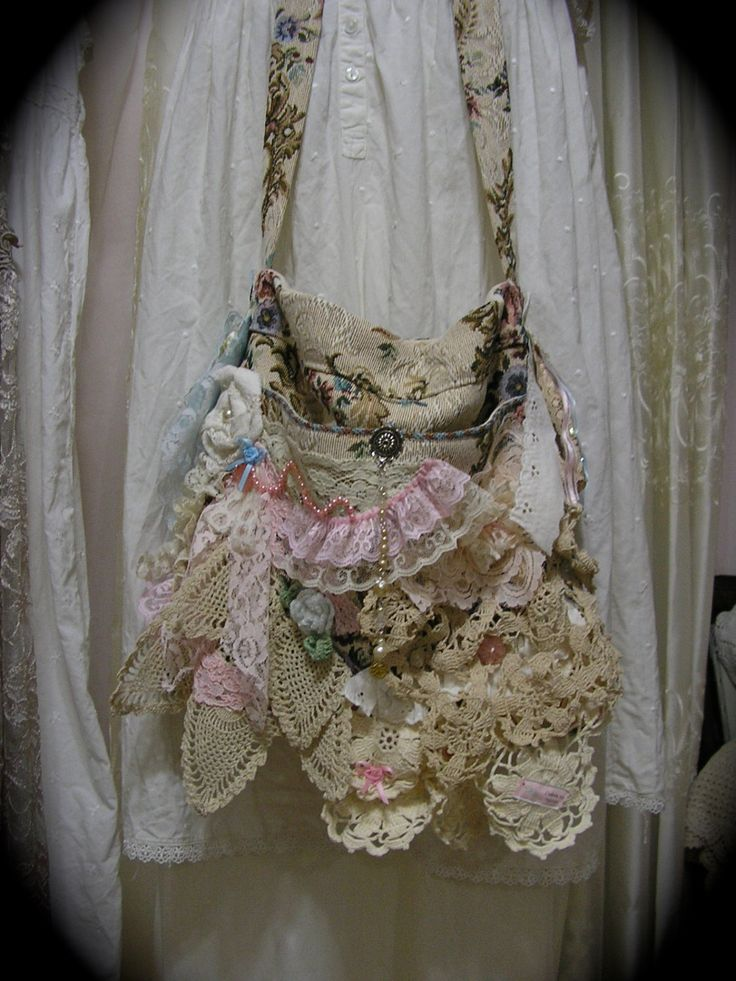 42 Best Images About Shabby Chic Bags On Pinterest Prima