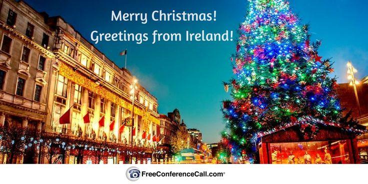 Call Santa's Hotline from Ireland at +353 (0) 14 372 290 #christmas #santashotline #conferencecalls