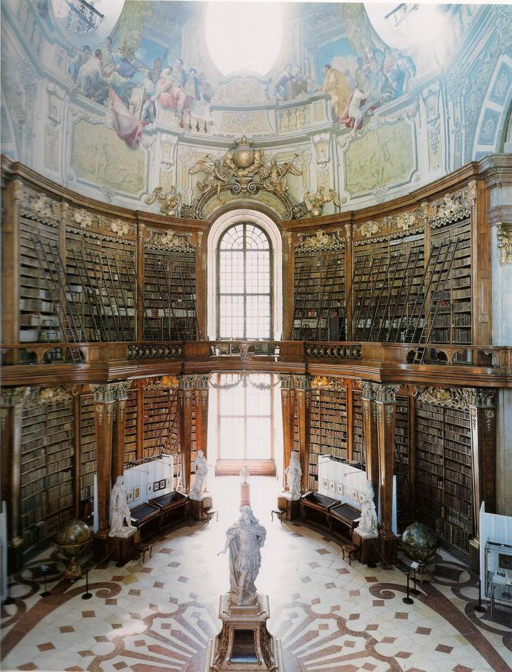 Osterreichishe Nationalbibliotheck (Austrian National Library) > Vienna > Austria > Europe
