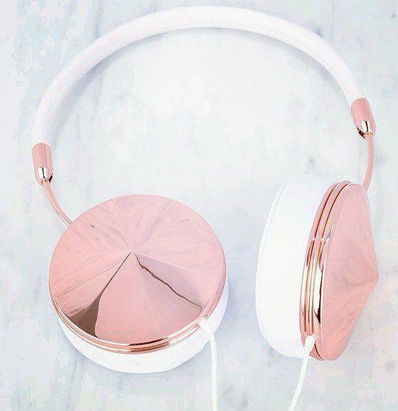 Rose Gold Headset    #bluetooth #headset #girly