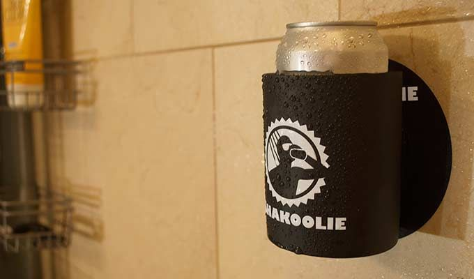 Shower beer koozie...I'm buying this