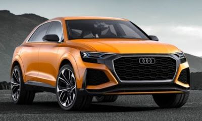 http://ift.tt/2pH6pml Audi Repaints Q8 Concept Krypton Orange Makes It 476 -HP Twin-Turbo V-6 Hybrid Powertrain http://ift.tt/2q0rHyc  We can't know for sure that Audi made the Q8 concept that debuted at this year's Detroit auto show and simply hurled on a new hair of cover demonstrated it new bumpers and stuffed a ruse powertrain into its nose but that's all it would take to create this orange Q8 Sport concept--the Sport moniker is new! It is all but identical to the original Q8 concept…