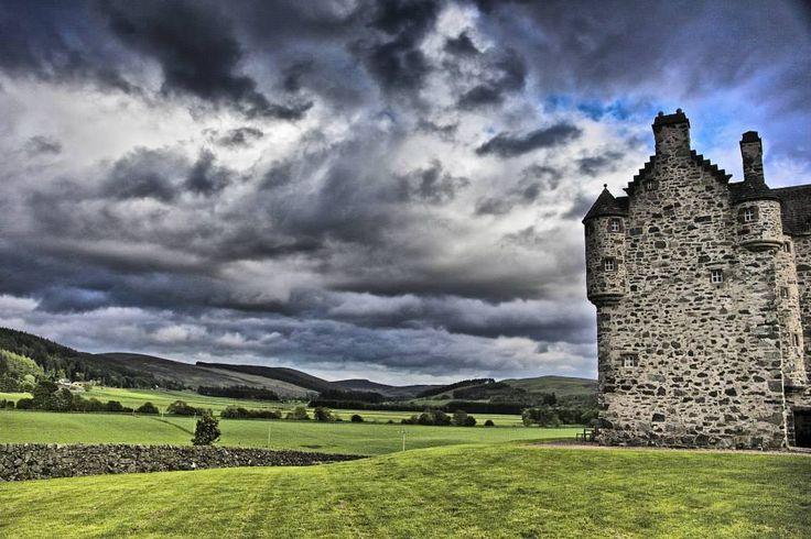 Forter Castle, Glenisla, Scotland