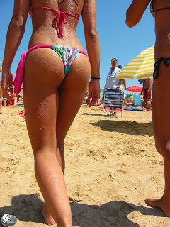 young girls with big butt in thong