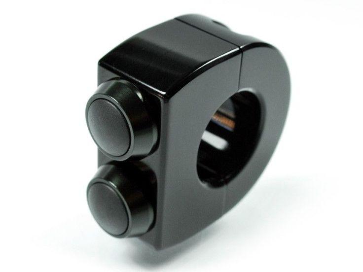 Bouton m-switch 2 boutons noir, Wats Motor - Café Racer - Scrambler & motos classiques