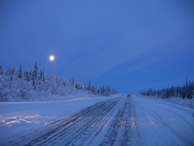 Dempster Highway near Inuvik, NT