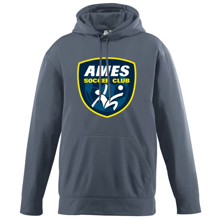 Augusta Ames Wicking Fleece Hoodie - Goal Kick Soccer - 1