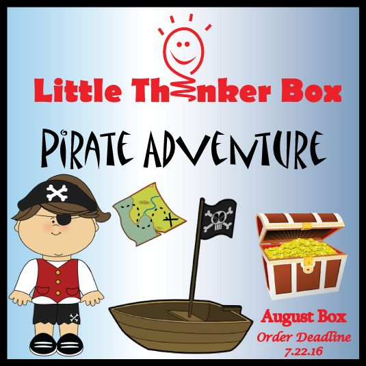 The Little Thinker Box is a monthly educational subscription for children ages 3 – 6 years old. Each month the child is sent a themed-based activity box that encourages reading, creating, exploring, and learning.