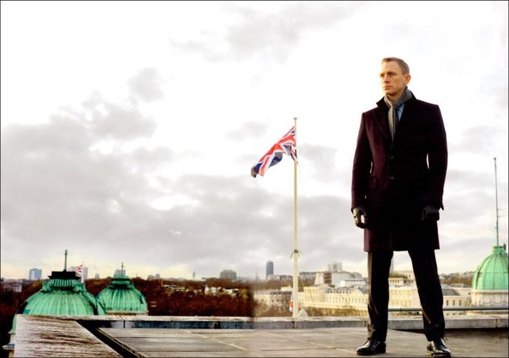 Skyfall - James Bond - Daniel Craig - London