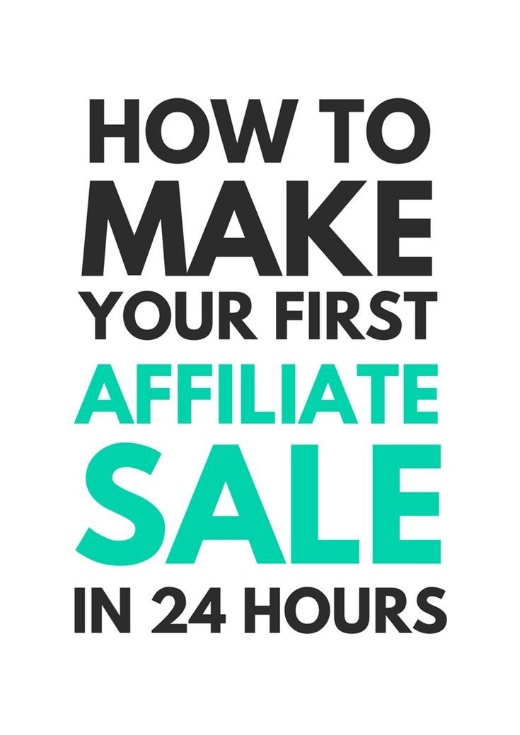 This is an easy to follow guide. I made an affiliate sale within 2 ...
