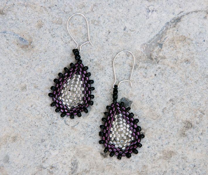 Tropfen Ohrringe von ... bead it up auf DaWanda.com
