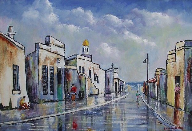 Chippini Street - Louis Pretorius art