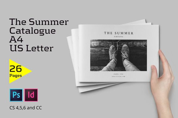 The Summer Catalogue by Firtana on @creativemarket