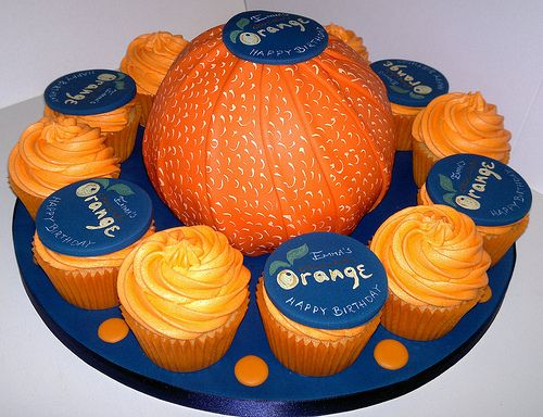 Terry's Chocolate Orange Cake and Cupcakes | Liz | Flickr