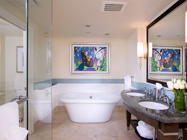Hilton Grand Vacations Parc Soleil Suite In Orlando, Featuring The MTI  Melinda Freestanding Tub!
