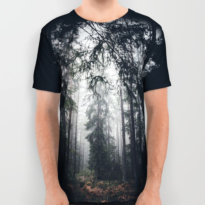 Dark paths All Over Print Shirt by HappyMelvin | Society6