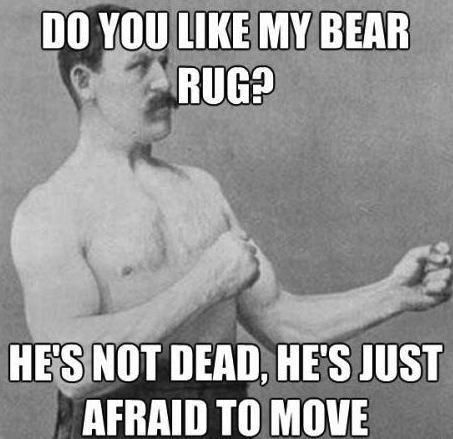 overly manly man LOL meme