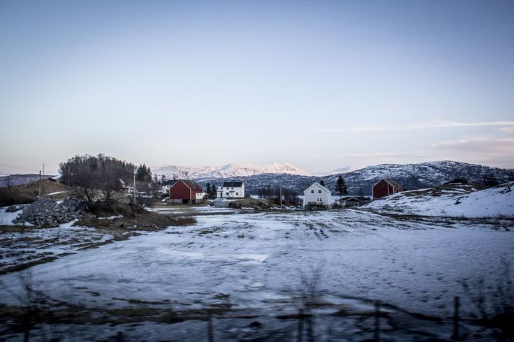 Arrivée à Harstad