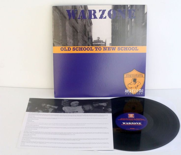 WARZONE old school Lp Record Youth of Today Cause For Alarm Urban Waste covers #PunkNewWave