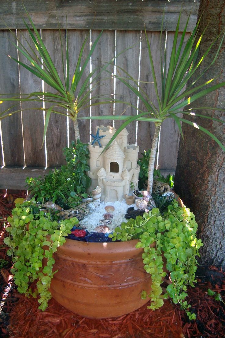 85 best Mermaid/Fairy Garden Ideas images on Pinterest