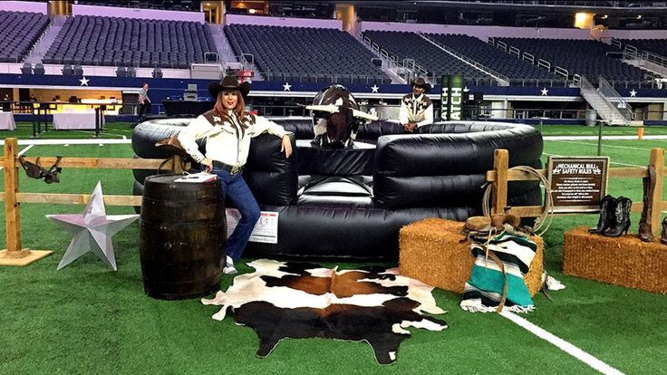 Featuring an authentic mechanical bull, portable nine-hole western mini golf course, casino, carnival, and arcade games, based in Dallas, Game On! provides top-quality equipment staffed by friendly, knowledgeable attendants.