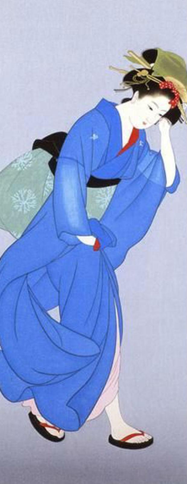 Shoen Uemura, la japonesa que plasmó la belleza femenina en pinturas (FOTOS)   Actualidad y Policiales   ElPopular.pe