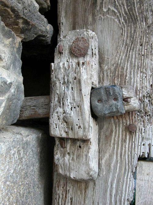 "weathered wood.  ""Tanca, San Vicente de Labuerda"" by PCB75, via flickr"