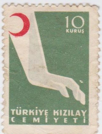 Turkey Red Cross Stamp.