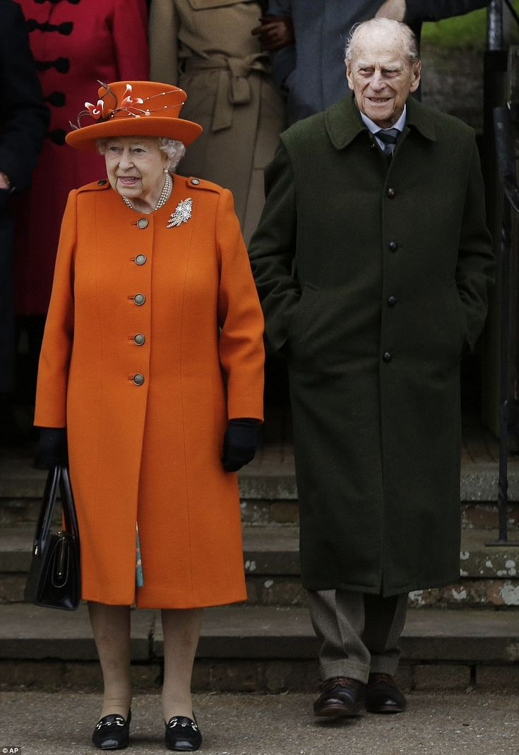 The Queen and Prince Philip looked in high spirits after leaving the traditional Christmas...