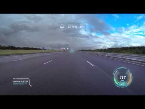 Jaguar reveals new 'virtual windscreen concept'