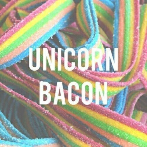 Unicorn bacon!!