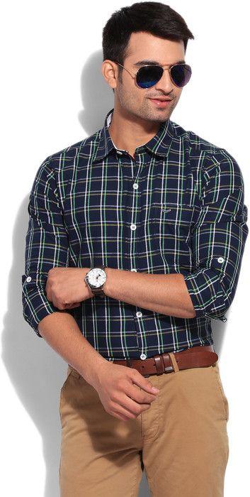 Integriti Men's Checkered #Casual #Shirt #Fashion #Style #BeUrself
