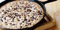 Σοκολατένιο μπισκότο στο τηγάνι έτοιμο σε 10 λεπτά!