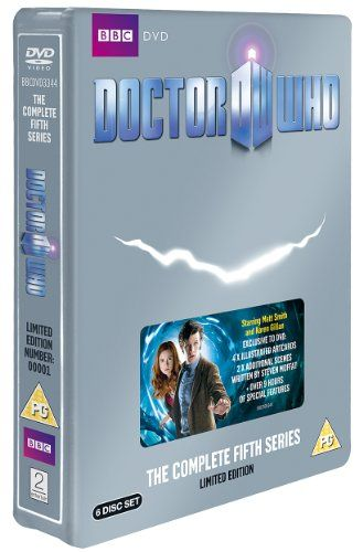 Doctor Who - The Complete Series 5 (Limited Edition Steelbook) @ niftywarehouse.com #NiftyWarehouse #DoctorWho #DrWho #Whovians #SciFi #ScienceFiction #BBC #Show #TV