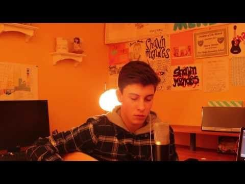 ▶ Say Something Cover - Shawn Mendes - YouTube....You guys should really watch this he has such an amazing voice it made me cry!!!