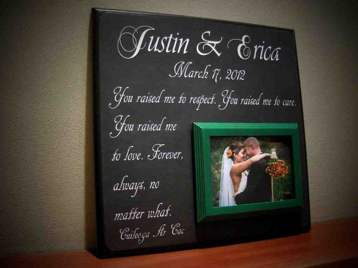 43 best Wedding Gifts for Parents images on Pinterest | 50th ...