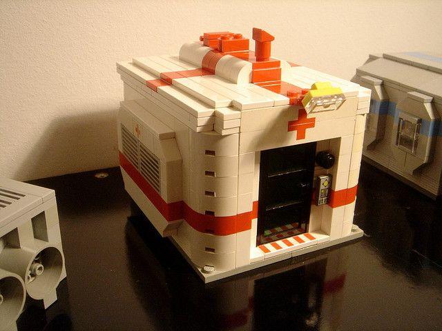 old stuff - moon station module - infirmary -