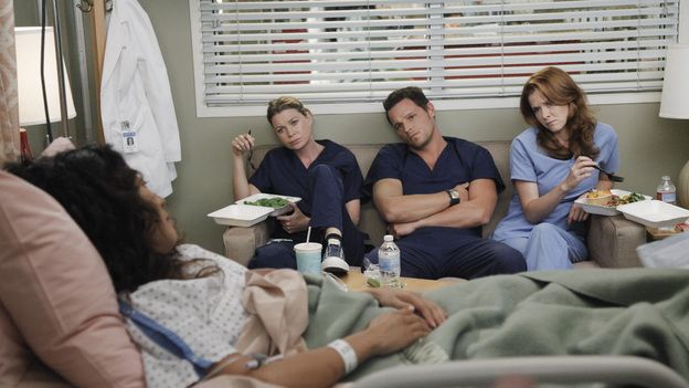 Never a dull day at the hospital. #GreysAnatomy