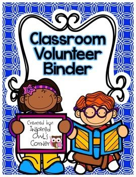 Classroom Volunteer Binder
