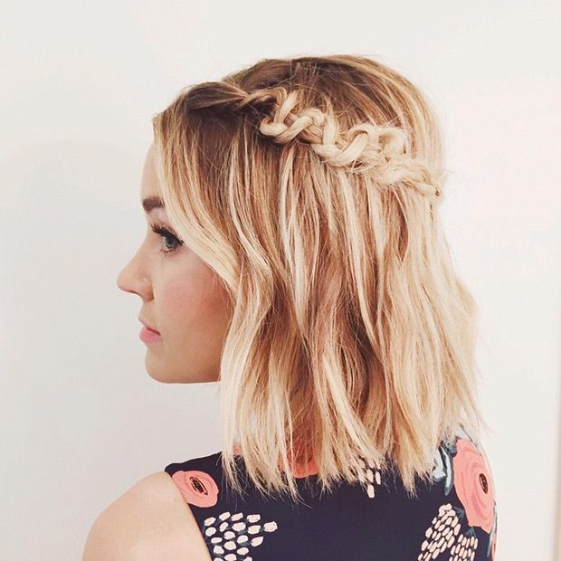 Best DIY Hairstyles Braiding Tutorials Images On Pinterest - Diy hairstyle knotted milkmaid braid