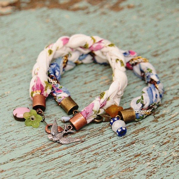 Nice fabric bracelets