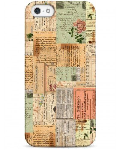 Винтажные открытки - iPhone 5 / 5S / 5C Дизайнерские чехлы для iPhone