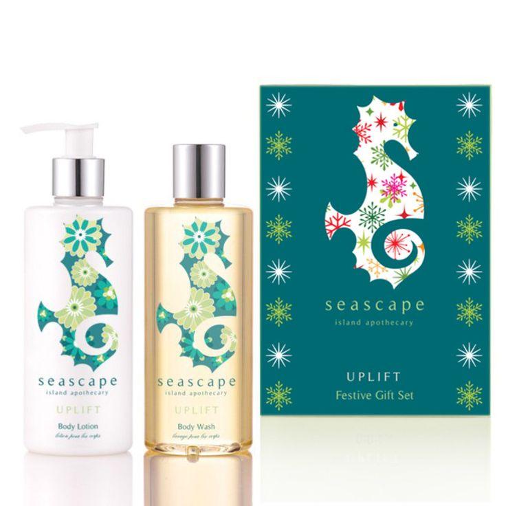 Seascape Island Apothecary - Uplift Festive Gift Set, £30
