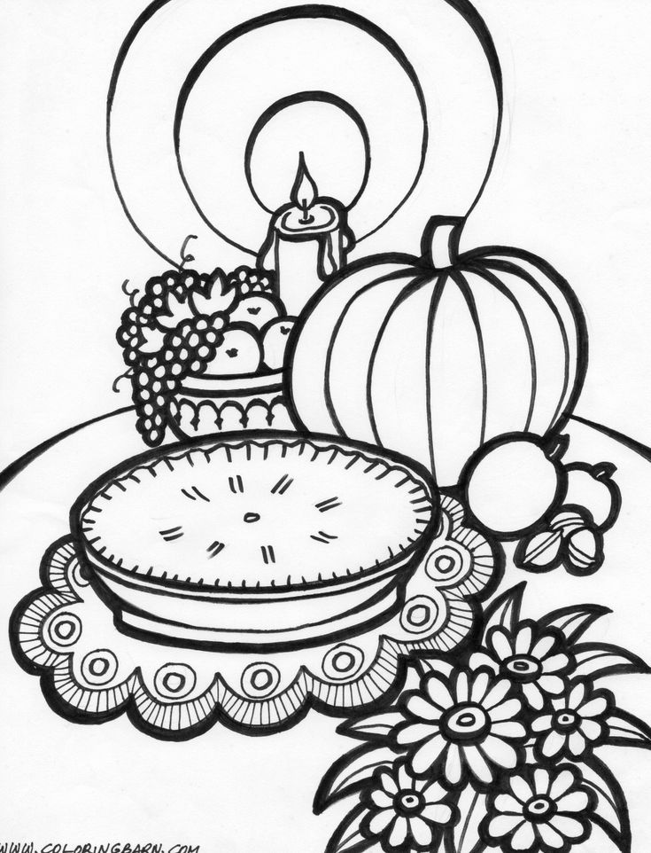 123 best Coloring  Fall images on Pinterest  Coloring books
